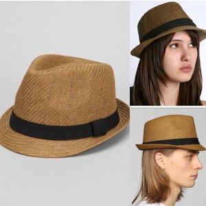 NWOT urban outfitters straw fedora hat
